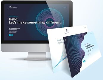 Lead generating landing page